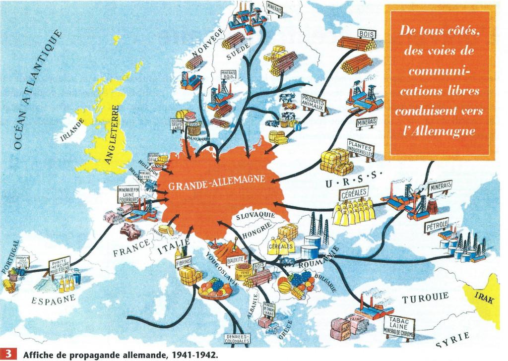 Affiche de propagande allemande - 1941/42 (manuel scolaire)