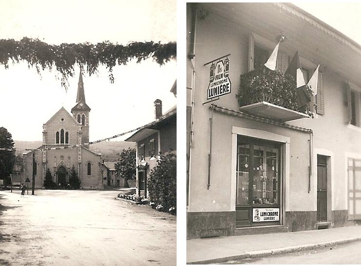 Le village décoré (archive Kronos)