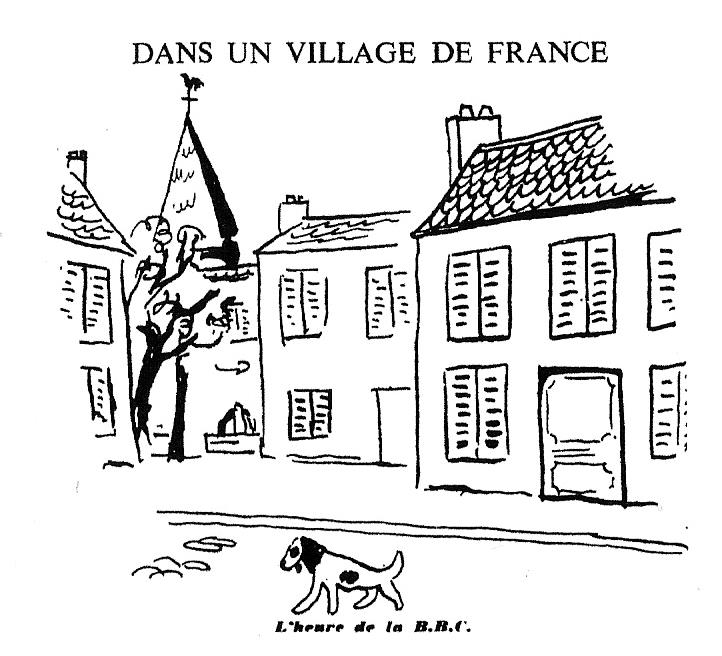 Dessin de presse (in Images de la France de Vichy)