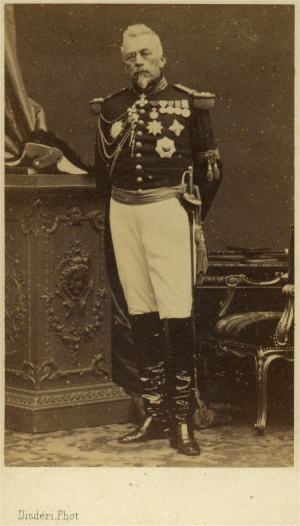 Philibert Mollard (photo Disdéri, vers 1866)