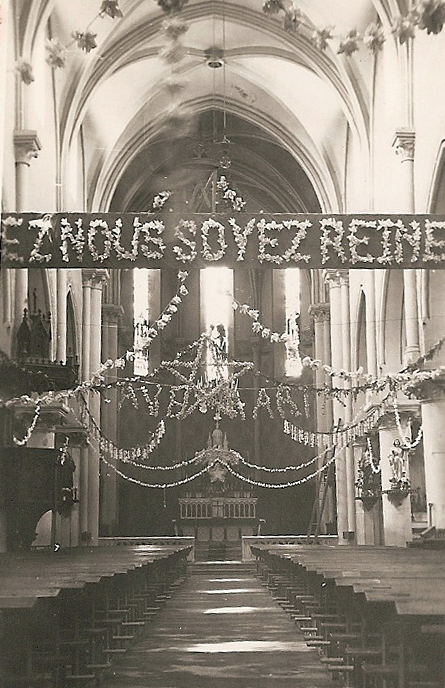 La nef de l'église d'Albens (archive Kronos)