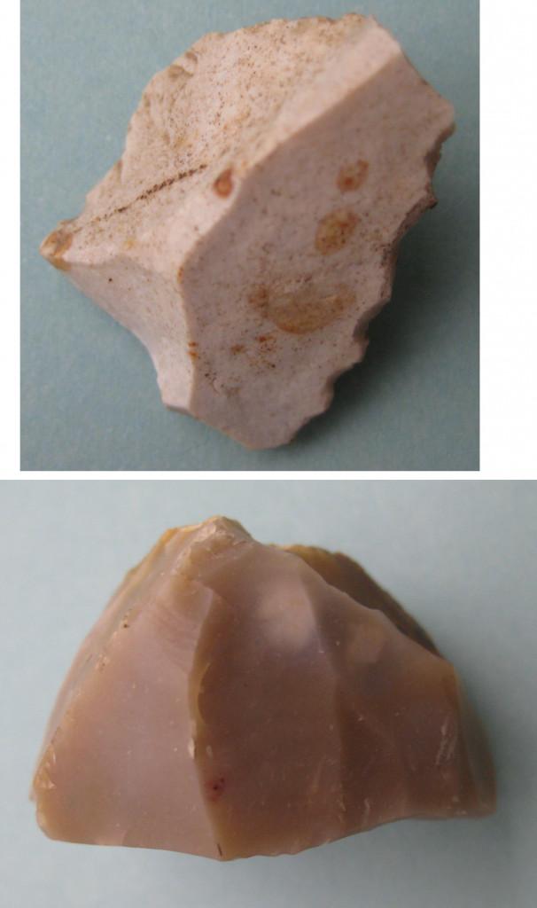 Outils préhistoriques découverts à Albens