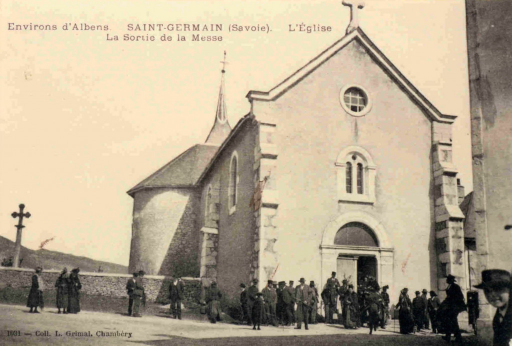 L'église de Saint-Germain (collection privée)