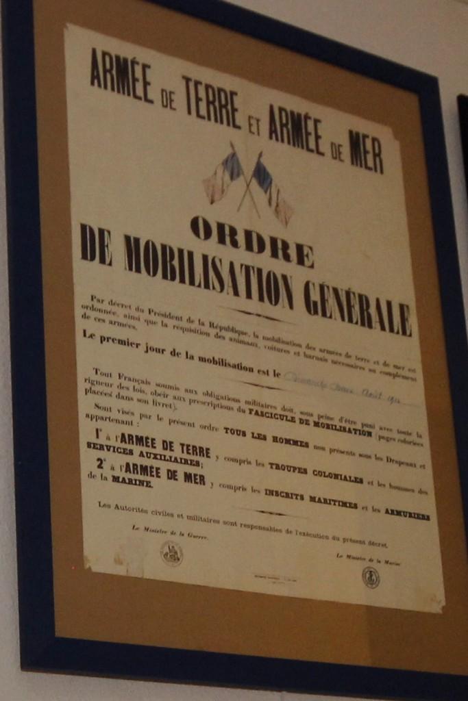 Affiche de mobilisation générale