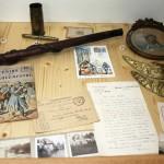 Lettres et cartes postales – plus de 4 millions de courriers transitaient quotidiennement sur le front français.