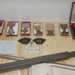 De nombreuses médailles militaires – La croix de guerre sera la décoration la plus remise aux combattants de la Grande Guerre. L'État pouvait les distribuer généreusement, la croix de guerre n'étant associée à aucune pension.
